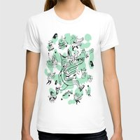 kitsune T-shirts featuring Kitsune Pattern by Birdcap