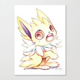 Cute little Jolteon Canvas Print