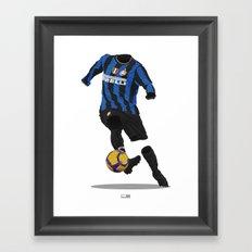 Inter Milan 2009/10 Framed Art Print