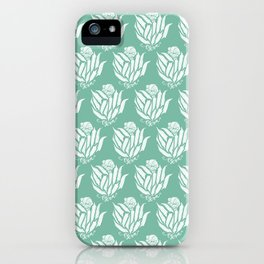 The Bloom of Okra iPhone Case