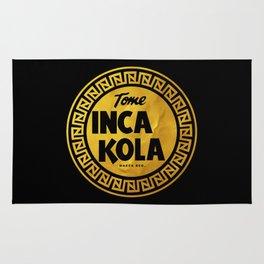 Inca Kola Gold Retro Rug