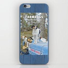 Outstanding Farmdogs iPhone Skin