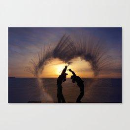 Steamheart Canvas Print