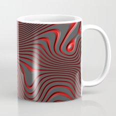 Organic Abstract 02 RED Mug