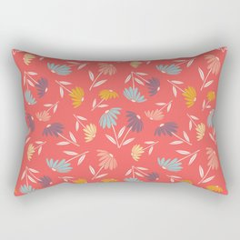 Garden Flowers Style D Rectangular Pillow