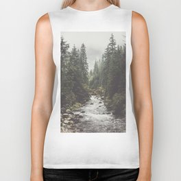 Mountain creek - Landscape and Nature Photography Biker Tank