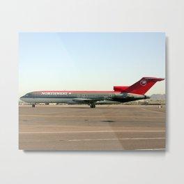 Northwest Airlines 727-200 Metal Print