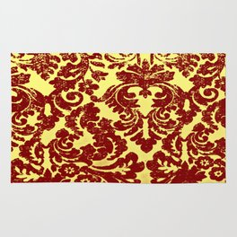 Royale Red Encryption Rug