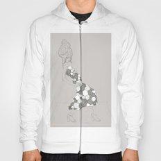 Japanese Couture Fashion Illustration Hoody