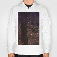 fireflies Hoodies featuring fireflies by Lara Paulussen
