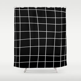 Off Grid Basic Shower Curtain