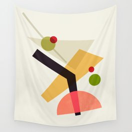 Cocktail IV Martini Wall Tapestry