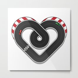Lovetrack Metal Print