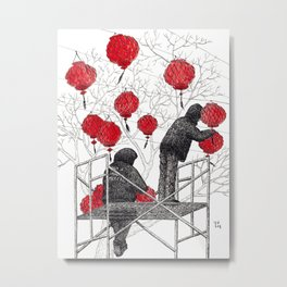 Chinese lanterns #1 Metal Print