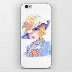 Violet Eyes iPhone Skin