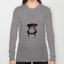 Purr is Power  (Pink)  Long Sleeve T-shirt