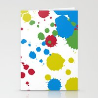 xbox Stationery Cards featuring Controller Graffiti XBox One by AngoldArts