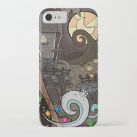 nightmare before christmas iPhone & iPod Cases featuring Nightmare Before Christmas by Lacey Simpson