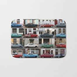 Cuba Cars - Horizontal Bath Mat