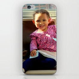 An Uphill Smile, Worth A Zillion iPhone Skin