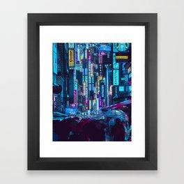 Myeongdong Lights Framed Art Print