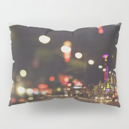 Hollywood Boulevard. Los Angeles Pillow Sham