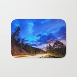 Colorado Highway 7 To Heaven Bath Mat