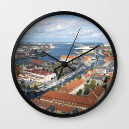 A View From Above Wall Clock