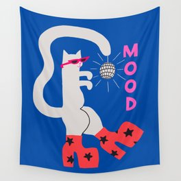 Mood Cat Wall Tapestry