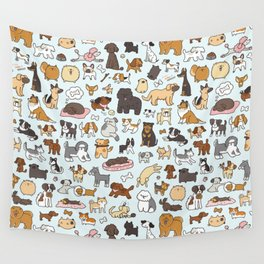 Doggy Doodle Wall Tapestry