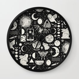 Lunar Pattern: Eclipse Wall Clock