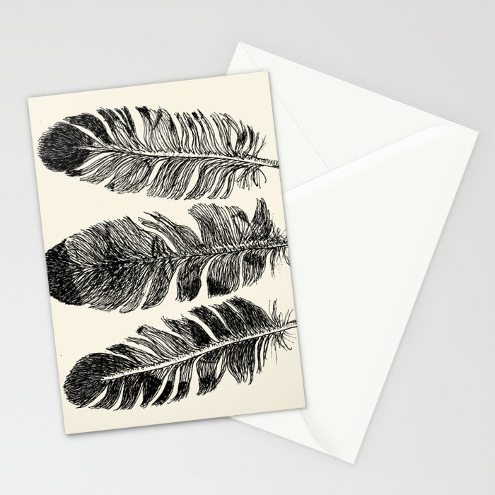 Feather Eagle Stationery Cards