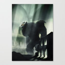 Barba the Colossus Canvas Print