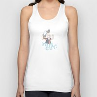 gravity falls Tank Tops featuring This Guy: Gravity Falls by EclecticMayhem