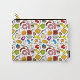 Cute Breakfast Goodies Carry-All Pouch