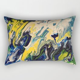 Crack of Life Rectangular Pillow