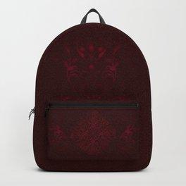 Red Leaf Mandala Backpack