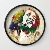 reggae Wall Clocks featuring Reggae Music Man by Gary Grayson