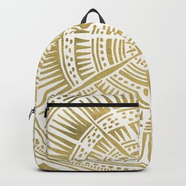 Paper Birch – Gold Tree Rings Backpack