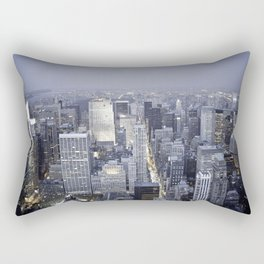 NYC from Empire State Building Rectangular Pillow