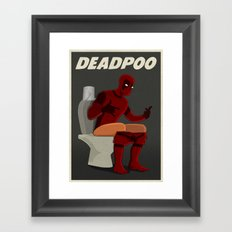 DEADPOO Framed Art Print