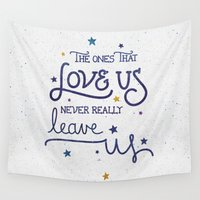 snape Wall Tapestries featuring Never leave us by Earthlightened