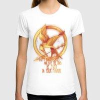 mockingjay T-shirts featuring Mockingjay by KanaHyde