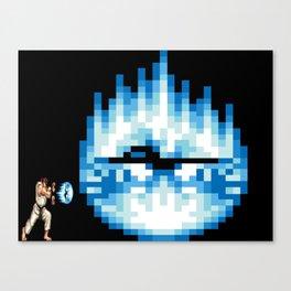 Ryu Hadouken Fireball Canvas Print
