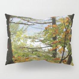 Columbia Rover Gorge Washington Trees in Autumn Pillow Sham