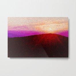 Mountain Sunrise Metal Print