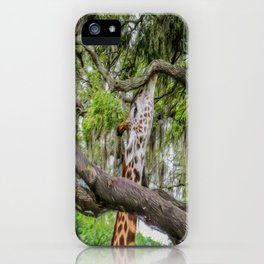 Just Minding My Own Business iPhone Case
