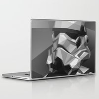 stormtrooper Laptop & iPad Skins featuring Stormtrooper by Filip Peraić
