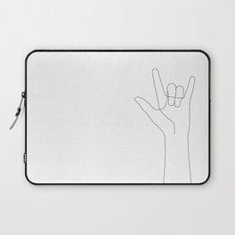 Love Hand Gesture Laptop Sleeve