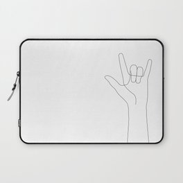 Love Hand Gesture Laptop Sleeve